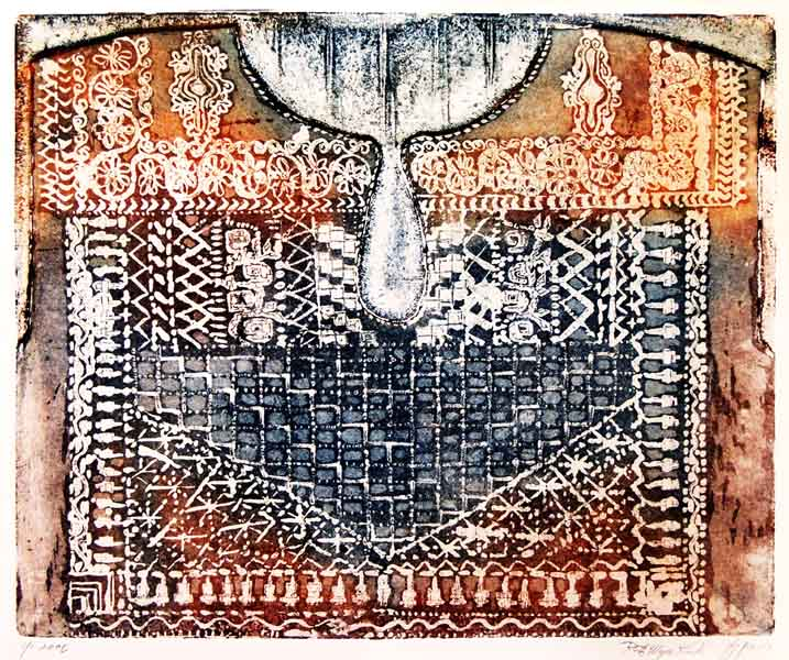 Chest Panel Embroidery  (gabbeh) Picture