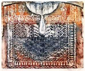 Chest Panel Embroidery  (gabbeh)